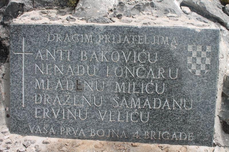 Obavijest o odlasku u Ravno na obilježavanje 27. obljetnice pogibije pripadnika 4. GBR