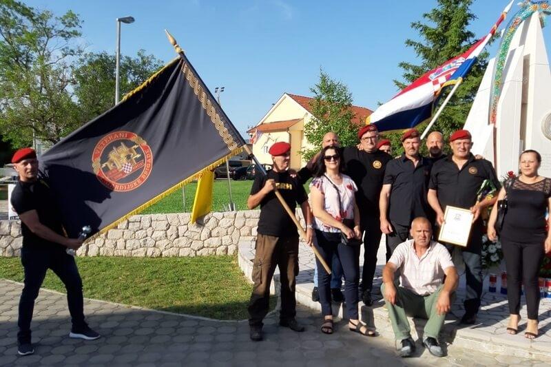 """Veterani 4. gardijske brigade na obilježavanju prve profesionalne postrojbe HVO-a """"Ante Bruno Bušić"""""""