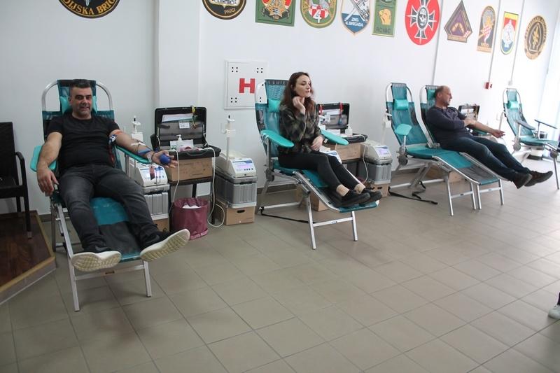 Veterani 4. gardijske brigade prikupili 32 doze krvi