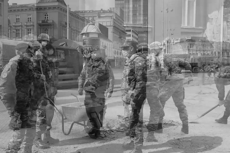 """VIDEO - Poruka Hrvatske vojske Zagrebu i cijeloj Republici Hrvatskoj: """"Sve možemo zajedno"""""""