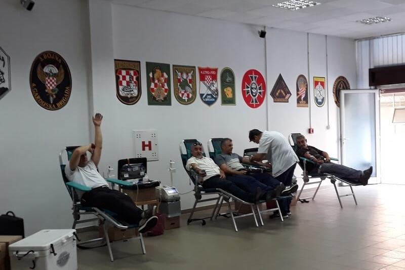 Završena treća ovogodišnja akcija darivanja krvi u organizaciji veterana 4. gardijske brigade