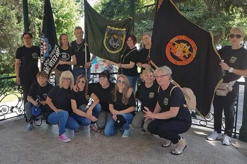 Veteranke 4. gardijske brigade na trećem susretu hrvatskih braniteljica u Petrinji