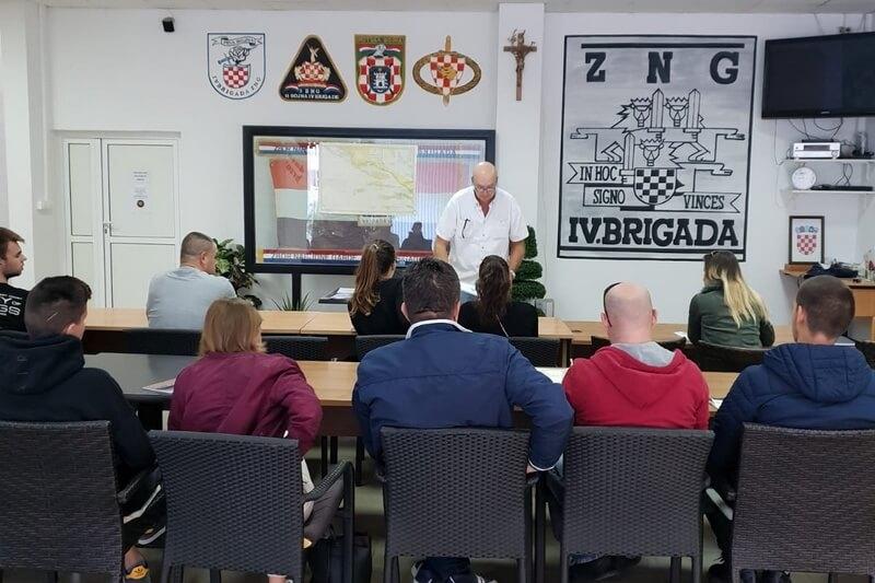 U udruzi veterana 4. gardijske brigade održan drugi tečaj za voditelja brodice
