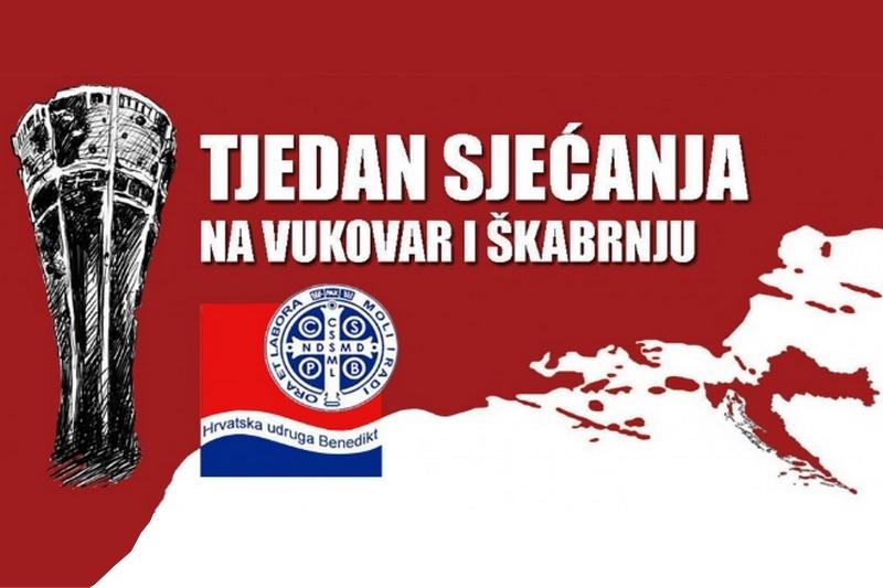 """Poziv na kulturno-društvenu manifestaciju """"Tjedan sjećanja na Vukovar i Škabrnju"""""""