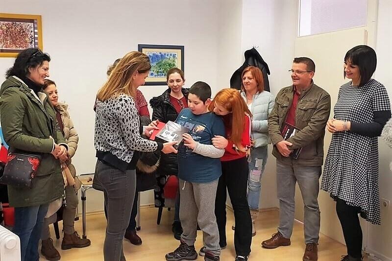 Veteranke 4. gardijske brigade u ponovnom darivanju štićenika Centra za autizam Split