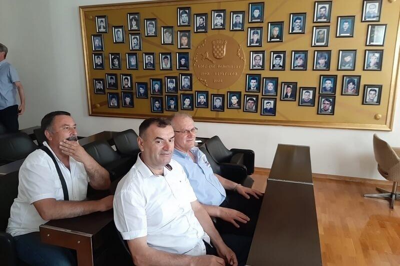 Veterani 4. gardijske brigade na Redovnoj skupštini Udruge roditelja poginulih hrvatskih branitelja