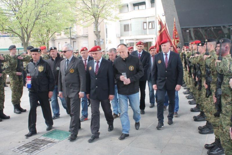 Veterani 4. GBR na obilježavanju 11. obljetnice Gardijske mehanizirane brigade