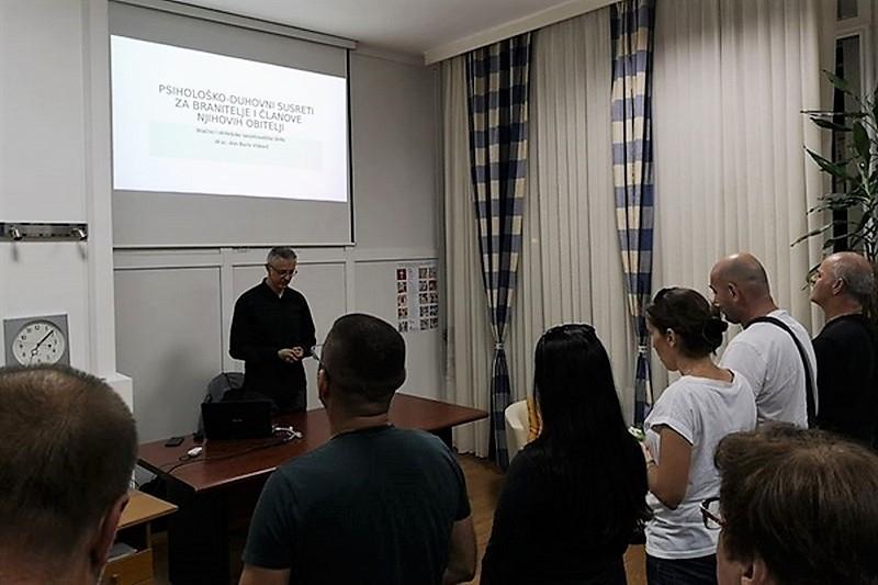 Nastavljaju se psihološko-duhovni susreti za branitelje u Splitu