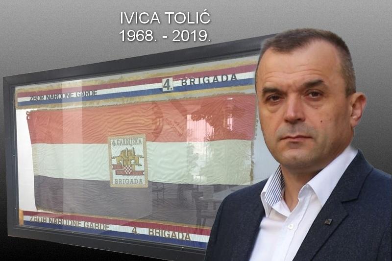 Preminuo je komodor Ivica Tolić ratni zapovjednik 3. bojne 4. gardijske brigade