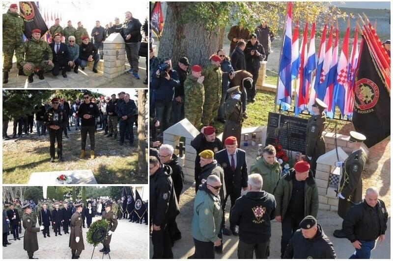 Veterani 4. gardijske bigade na obilježavanju 27. obljetnice vojno-redarstvene operacije Maslenica
