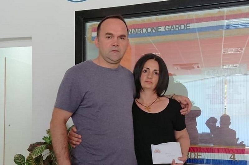 """Veterani 4. gardijske brigade """"Hrvatski anđeli"""" pomažu obitelj pokojnog suborca"""