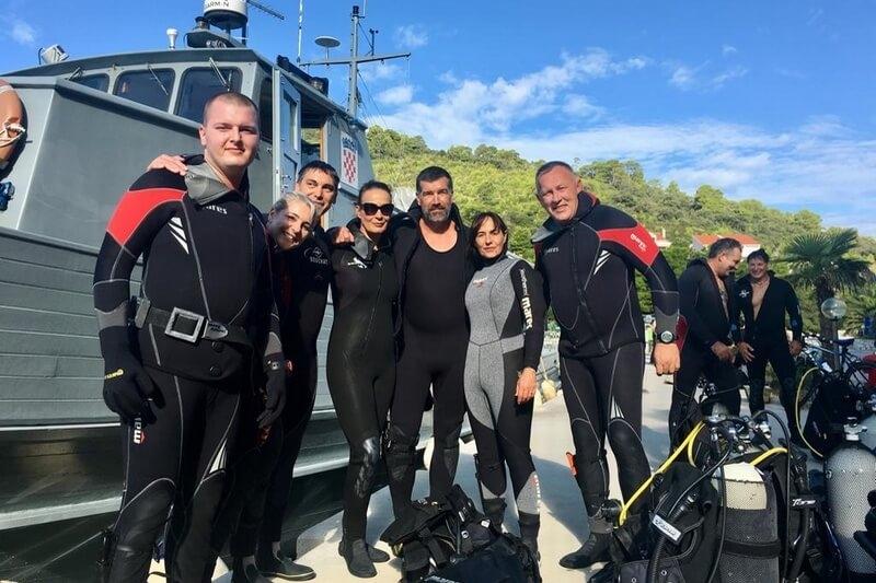 Ronilački klub veterana 4. gardijske brigade u eko akciji lastovskog podmorja