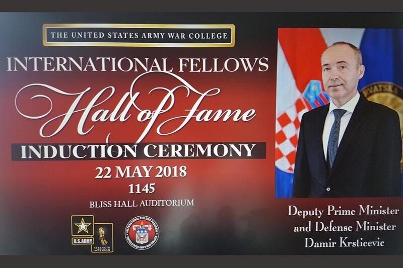 Čestitamo našem ratnom zapovjedniku Damiru Krstičeviću na prijemu u Kuću slavnih Ratne škole američke Kopnene vojske