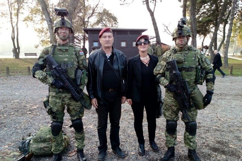 "Veterani 4. gardijske brigade na obilježavanju 28. obljetnice osnutka 1. gardijske brigade ""Tigrovi"""