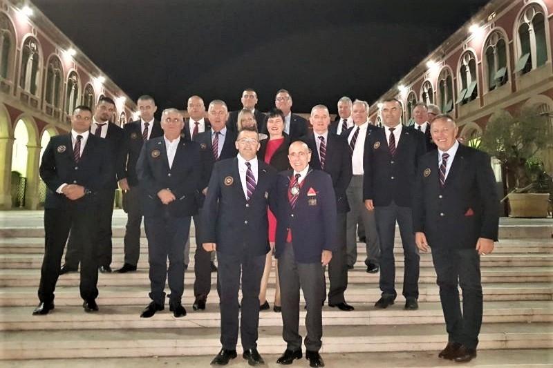 Ratni vojni veterani SAD-a u posjeti veteranima 4. gardijske brigade u Splitu