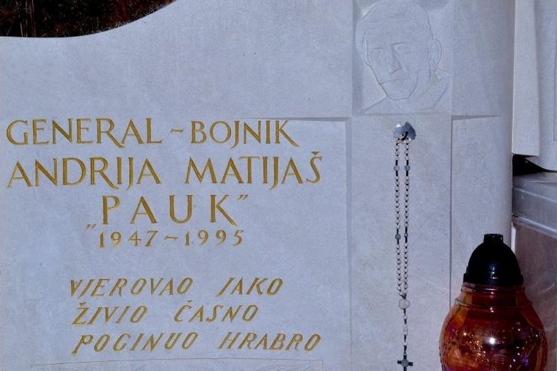 Program obilježavanja 23. godišnjice pogibije generala Andrije Matijaša Pauka