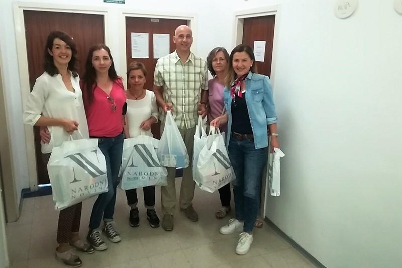 Veteranke 4. gardijske brigade darovale štićenike Centra za autizam Split