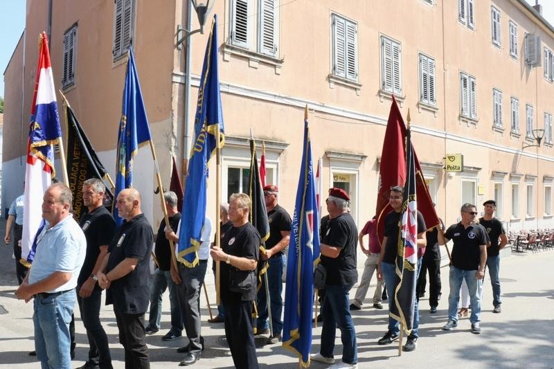 Veterani 4. gardijske brigade i pridruženi članovi na V. pokrajinskom hodočašću u Sinju