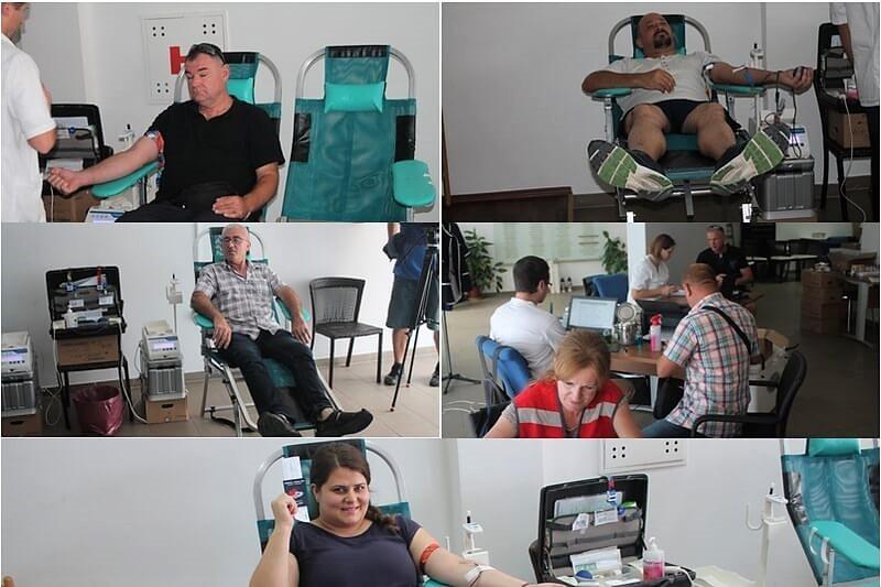Završena druga ovogodišnja akcija darivanja krvi u organizaciji veterana 4. gardijske brigade