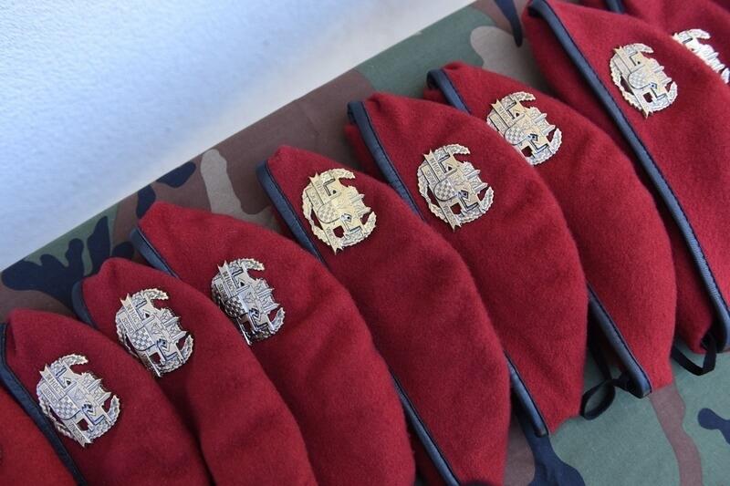 "Poziv na svečanu dodjelu beretki pripadnicima 3. mehanizirane bojne ""Pauci"" Gardijske mehanizirane brigade Hrvatske kopnene vojske."