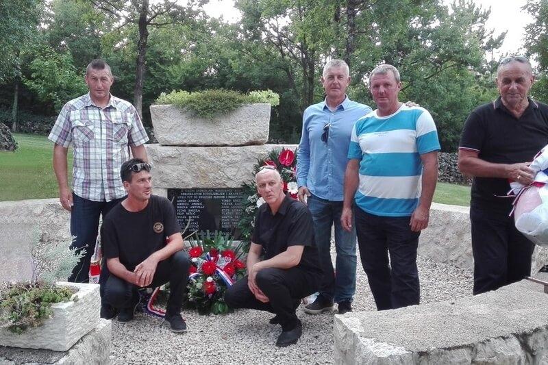 """Veterani 4. gardijske brigade na komemoraciji u spomen na Bugojansku skupinu """"Fenix"""""""