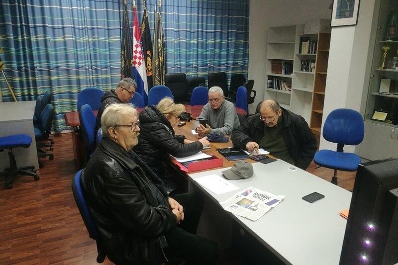 U Udruzi veterana 4.GBR održana prva ovogodišnja besplatna informatička radionica