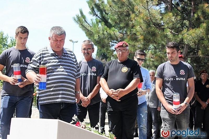 Veterani 4. gardijske brigade na 26. proslavi obljetnice oslobađanja Bune
