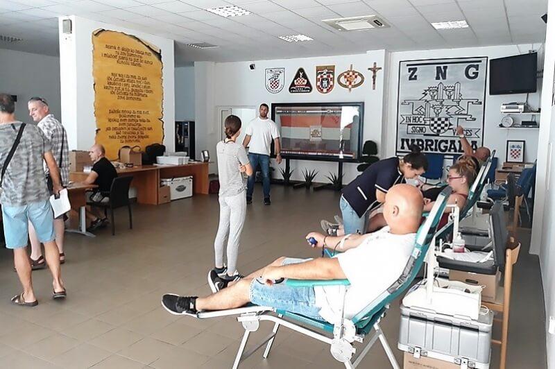 U Udruzi veterana 4. gardijske brigade održana druga ovogodišnja akcija darivanja krvi