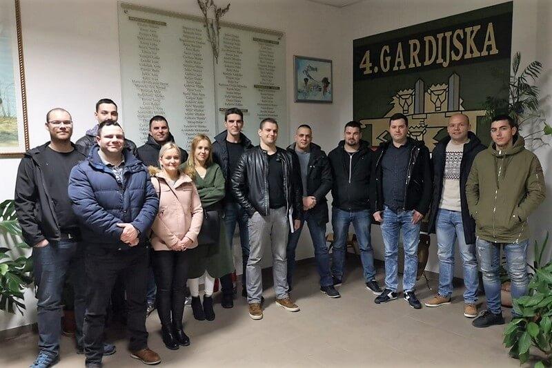 Nove snage Udruge veterana 4. gardijske brigade