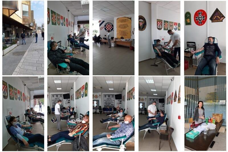 Uspješno završena prva ovogodišnja akcija dobrovoljnog darivanja krvi - Prikupljeno 34 doze krvi