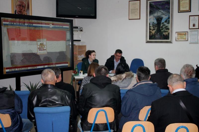 Održana Redovna – izvještajna skupština Udruge veterana 4. gardijske brigade