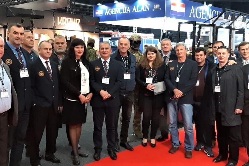 Veterani 4. gardijske brigade na petoj Jadranskoj vojnoj i zrakoplovnoj izložbi i konferenciji - ASDA 2019