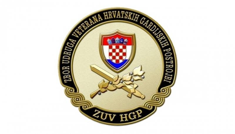 Priopćenje za javnost Zbora udruga veterana hrvatskih gardijskih postrojbi