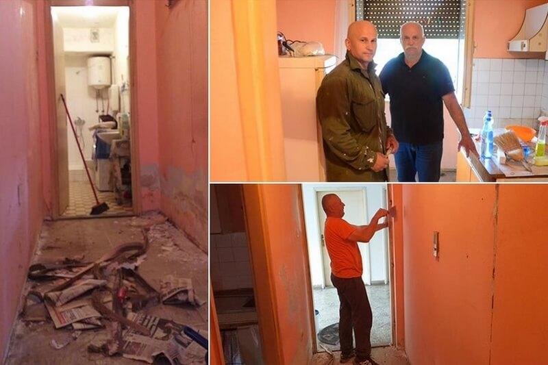 Veterani 4. gbr. Dubrovačke županije u akciji: Uređuju derutan stan jedne svoje starije i bolesne sugrađanke