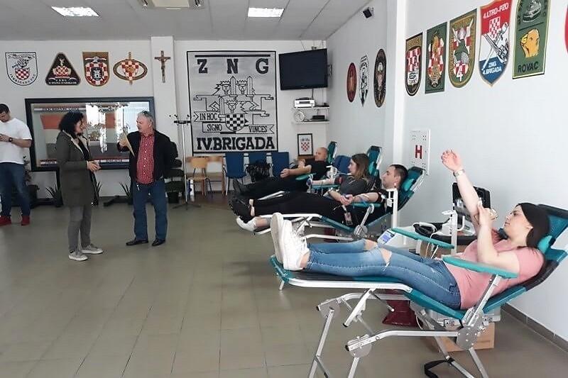 U Udruzi veterana završena prva ovogodišnja akcija dobrovoljnog darivanja krvi