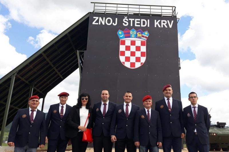 """Veterani 4. gardijske brigade na otvaranju Središta za razvoj vođa """"Marko Babić"""""""