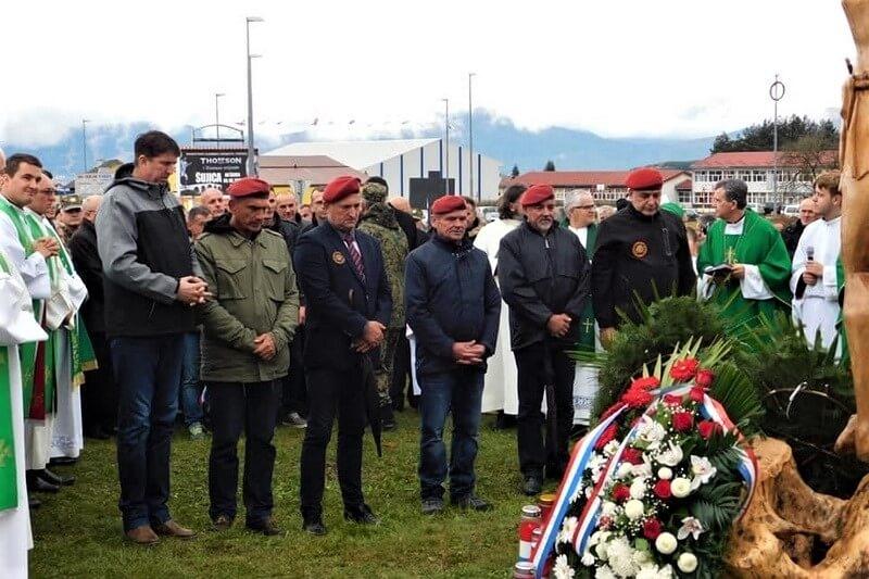 Veterani 4. gardijske brigade na obilježavanju 25. obljetnice oslobođenja Kupresa