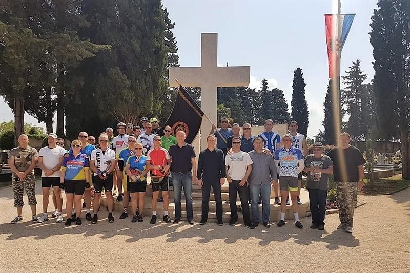 """Završena biciklijada """"Putevima 4. brigade Dračevac - Maslenica"""""""