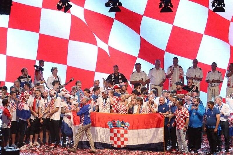 Priopćenje za javnost u svezi s dočekom hrvatske nogometne reprezentacije u Zagrebu