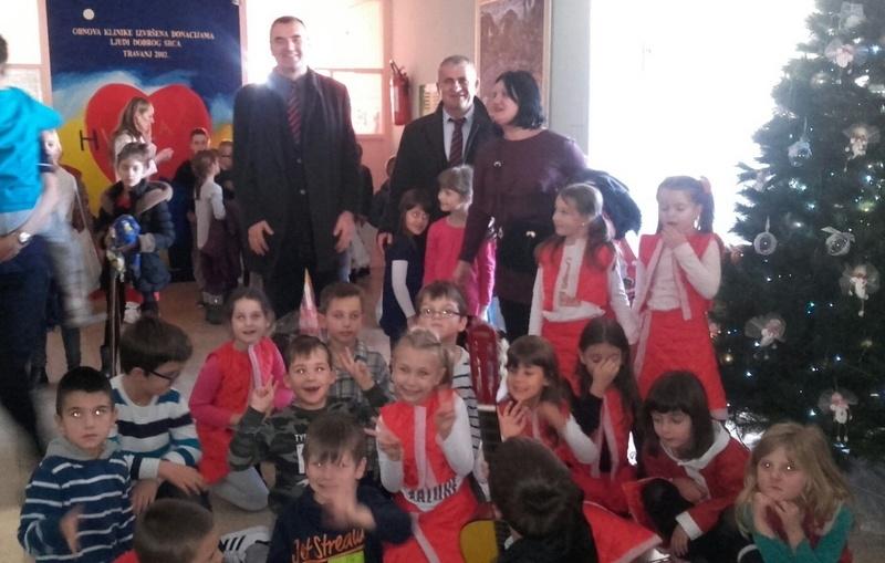 Veterani  4. gbr posjetili Odjel za dječju hematoonkologiju u Splitu