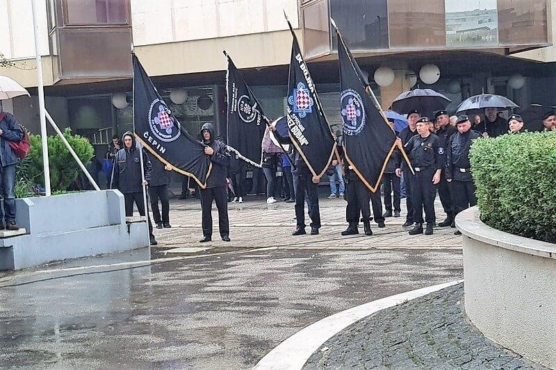 """Veterani 4. gardijske brigade na obilježavanju 28. obljetnice IX. bojne HOS-a """"Rafael vitez Boban"""""""