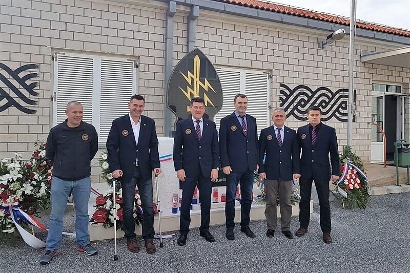 Veterani 4. GBR na obilježavanju 27. obljetnice osnutka SJP BATT SPLIT