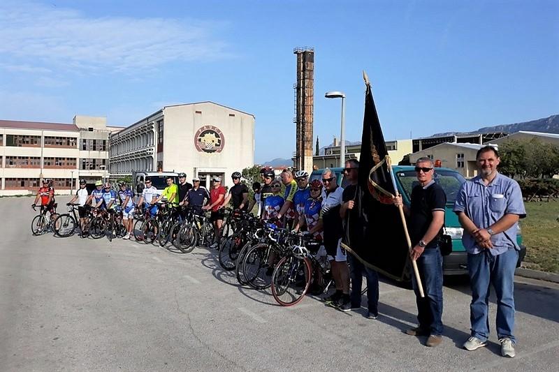 """Start biciklijade """"Putevima 4. brigade, Dračevac-Maslenica"""""""