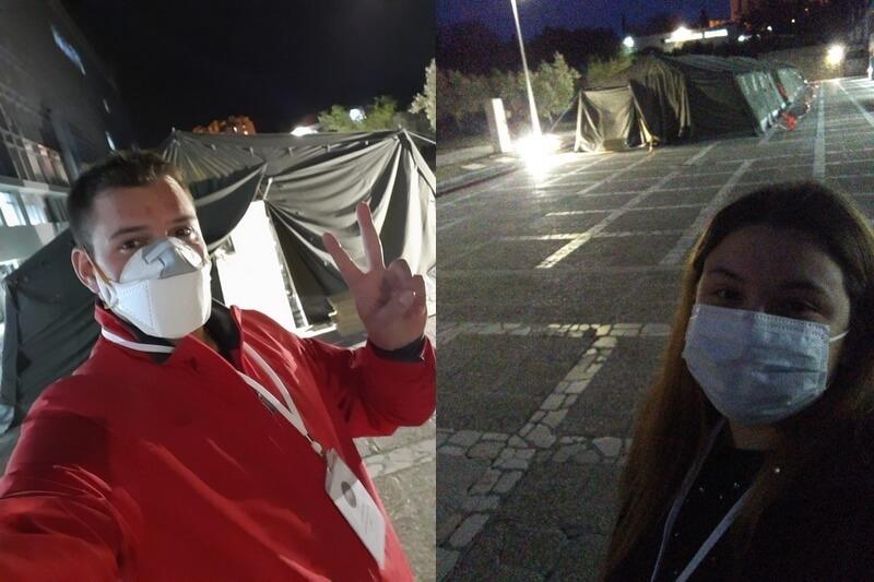 Veterani 4. GBR i Klub djece hrvatskih branitelja Domovinskog rata volontiraju u KBC-u Split