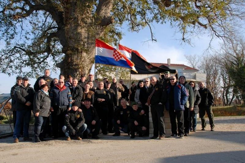 Veterani 4. GBR na obilježavanju 25. obljetnice obrane Novigrada
