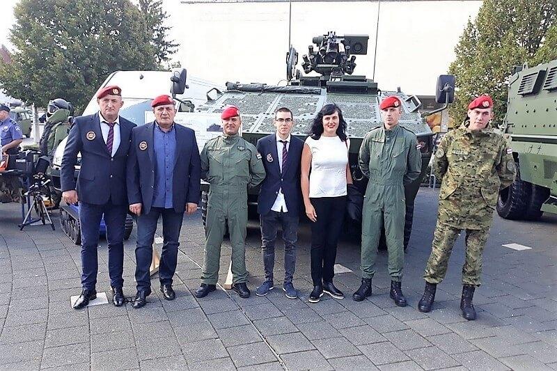 """Veterani 4. gardijske brigade na obilježavanju 26. obljetnice VRO """"Medački džep"""""""