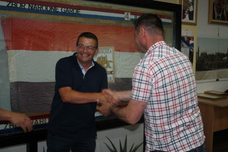 Hrvoje Pupić Vurilj, novi predsjednik Udruge veterana 4. gardijske brigade